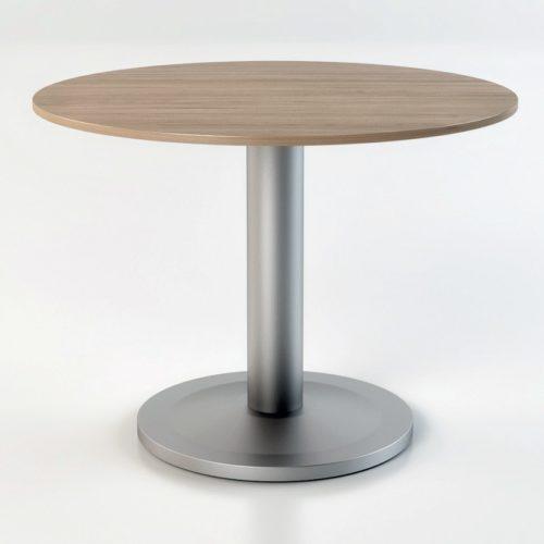 Tavolo riunioni circolare piano in legno Retta