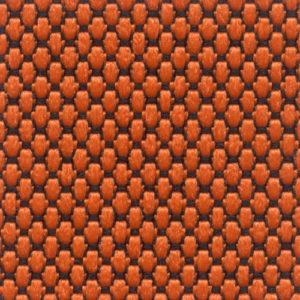 Tessuto a piccoli rilievi puntinato Arancione 3594