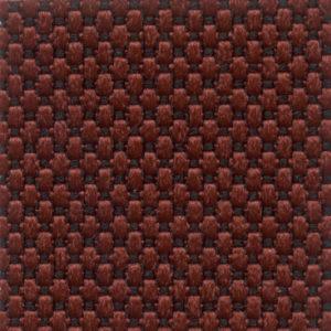 Tessuto a piccoli rilievi puntinato Rosso scuro 4517