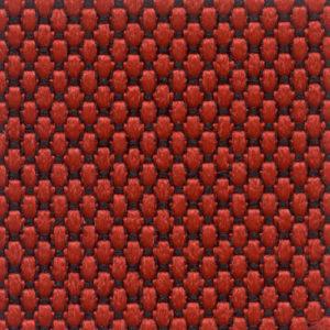 Tessuto a piccoli rilievi puntinato Rosso 4528