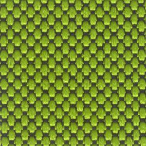 Tessuto a piccoli rilievi puntinato Verde giallastro 7541