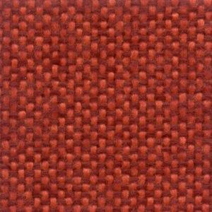 Tessuto compatto bicolore Rosso-Arancione 9402