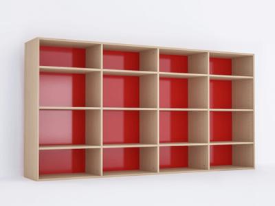 Libreria sovrapponibile a 4 moduli EB241LR
