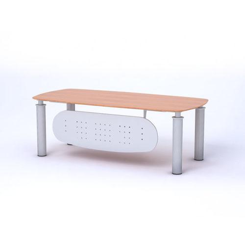 Scrivania con piano in legno Serie Light