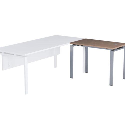 Allunghi scrivania operativa Serie Retta