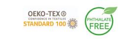 OKO-TEX-100-PHTALATE-FREE